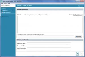 Enlarge Genie Backup  Manager Screenshot