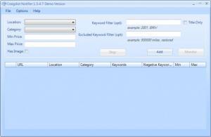 Enlarge Craigslist Notifier Screenshot