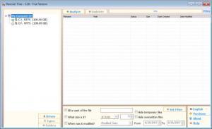 Enlarge Recover  Files Screenshot