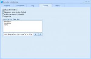 Enlarge Everyday Auto  Backup Screenshot