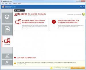 Enlarge BackupAssist Screenshot