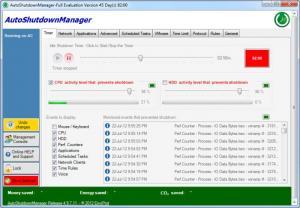 Enlarge Auto Shutdown  Manager Screenshot