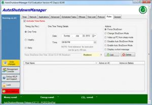 Enlarge Auto Shutdown  Manager Screenshot