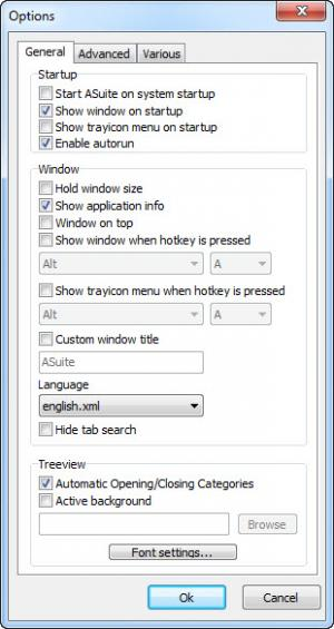 Enlarge ASuite Screenshot