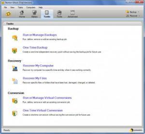Enlarge Norton  Ghost Screenshot
