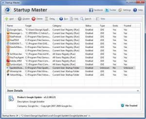 Enlarge Startup  Master Screenshot
