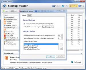 Enlarge Startup  Master Screenshot