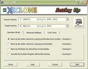 Enlarge XXCLONE Screenshot