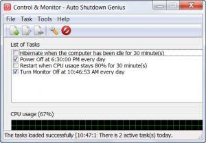 Enlarge Auto Shutdown  Genius Screenshot