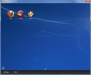 Enlarge Winlaunch Screenshot
