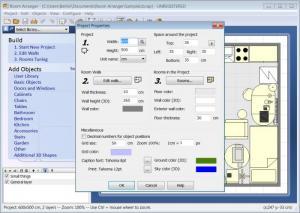 Enlarge Room Arranger Screenshot