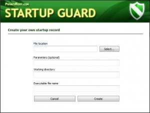 Enlarge Startup  Guard Screenshot