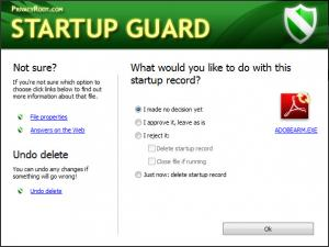 Enlarge Startup  Guard Screenshot