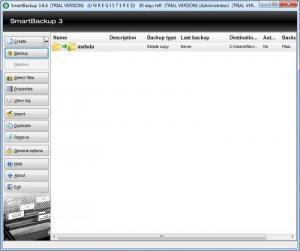 Enlarge SmartBackup Screenshot