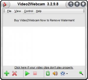 Enlarge Video2Webcam Screenshot