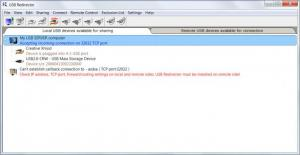 Enlarge USB  Redirector Screenshot