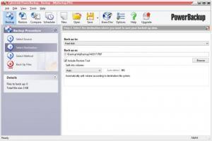 Enlarge CyberLink  PowerBackup Screenshot
