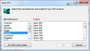 Enlarge EasyGPS Screenshot
