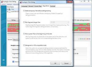 Enlarge Auslogics Disk  Defrag Screenshot
