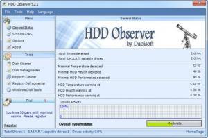 Enlarge HDD Observer Screenshot
