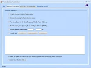 Enlarge Puran Defrag Free Edition Screenshot