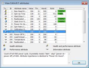 Enlarge HDDlife Professional Screenshot