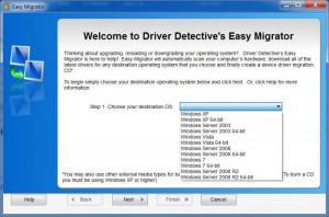 Enlarge Driver  Detective Screenshot