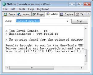 Enlarge NetInfo Screenshot