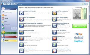Enlarge Sendblaster Screenshot