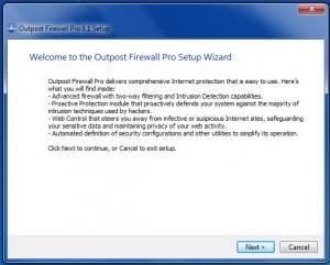 Enlarge Outpost Firewall  Pro Screenshot