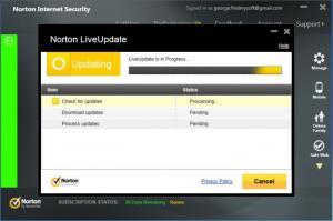 Enlarge Norton Internet  Security Screenshot