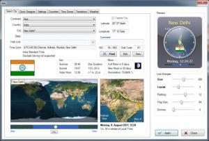 Enlarge Sharp World Clock Screenshot