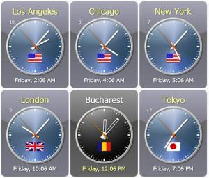 Enlarge Sharp World Clock Screenshot