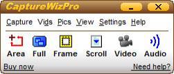 Enlarge CaptureWizPro Screenshot