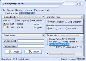 Enlarge StorageCrypt Screenshot