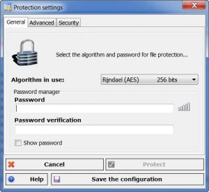 Enlarge Androsa  FileProtector Screenshot
