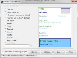 Enlarge Simply Calenders Screenshot