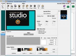 Enlarge Karaoke Builder Studio Screenshot