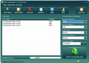 Enlarge Reezaa MP3 Converter Screenshot