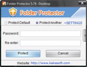 Enlarge KaKa Folder Protector Screenshot
