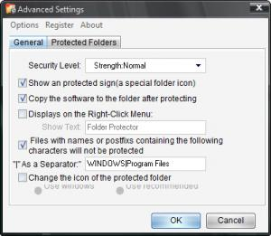 Enlarge KaKa Folder Protector Screenshot