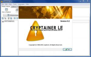 Enlarge Cryptainer  LE Screenshot