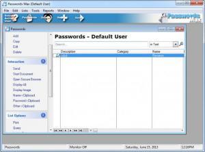 Enlarge Passwords  Max Screenshot