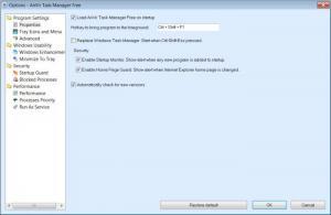 Enlarge AnVir Task Manager  Free Screenshot