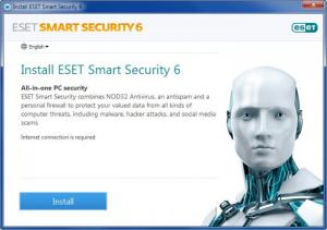 Enlarge ESET Smart Security Screenshot