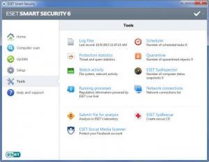 Enlarge ESET Smart Security Screenshot