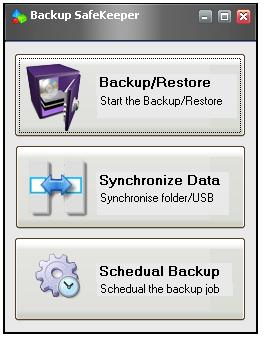 Enlarge Backup SafeKeeper Screenshot