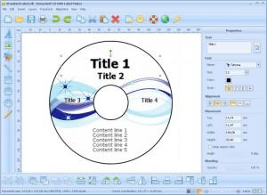 Enlarge CD DVD Label Maker Screenshot