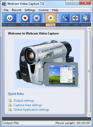 Enlarge Webcam Video Capture Screenshot