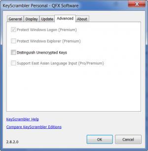 Enlarge KeyScrambler Personal Screenshot